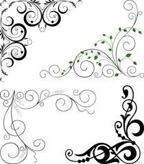 decorative corners