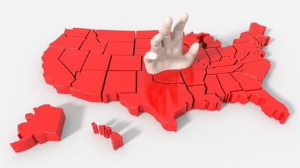 USA map help