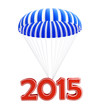 parachute new year's 2015