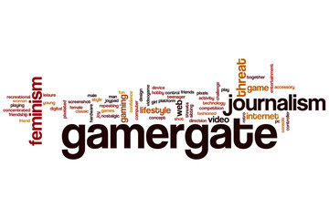 Gamergate word cloud