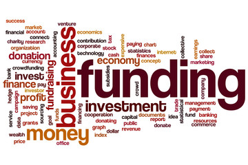 Funding word cloud