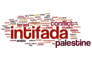 Intifada word cloud