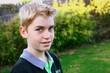 portrait adolescent 13 ans