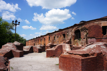 The bastions of the Brest fortress
