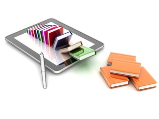 books , Tablet computer