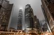 Quadro Hong Kong skyscrapers