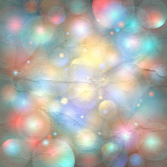 Abstract shimmering background bokeh