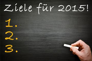 Ziele 2015