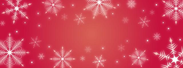雪の結晶背景イラスト