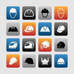 Helmet icons