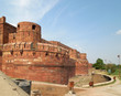 canvas print picture - Agra Fort