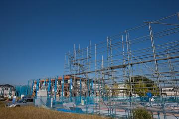 住宅建設用の足場