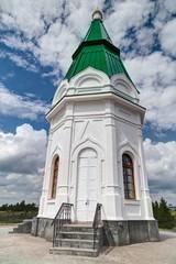 Small Church in Krasnoyarsk
