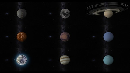 solar system planets without pluto