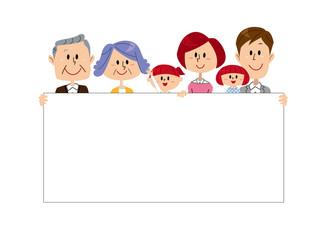 三世代 家族 ボード