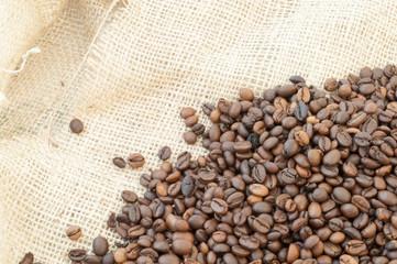 macro of coffee