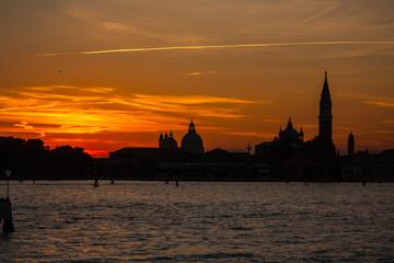 Tramonto, Venezia, Veneto, Italia