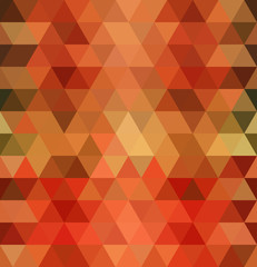 Geometric triangles seamless pattern