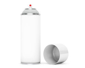 Blank Aluminum Spray Can