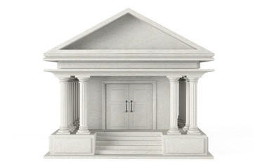 Ancient Colonnade Building