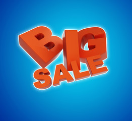 big sale. 3d illustration