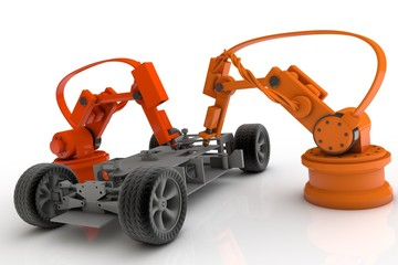 Fahrzeugmontage