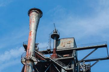 Industriegebäude, Hochofen, Turm