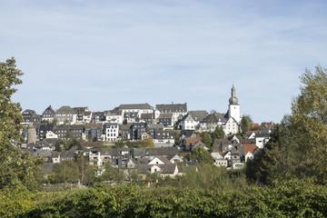 Stadtansicht Arnsberg im Sauerland, NRW, Deutschland
