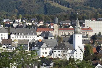 Stadtkapelle St. Georg  in Arnsberg, NRW, Deutschland