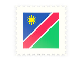 Postage stamp icon of namibia
