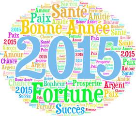 2015 nouvel an et bonne année