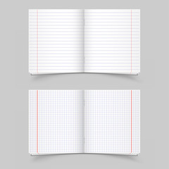 school notebooks