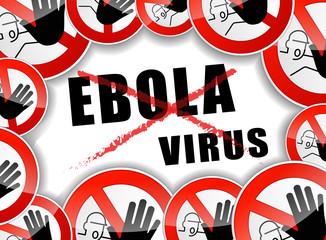 no ebola virus concept