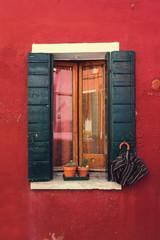 Burano. Venice. Window