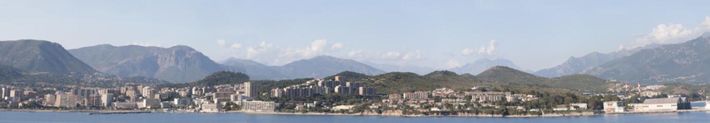 Panoramica di Ajaccio