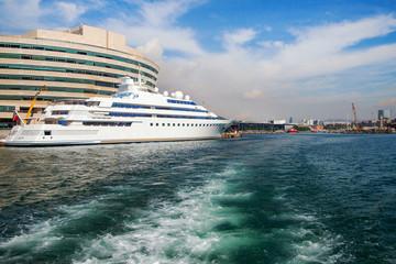Barcelona harbor.