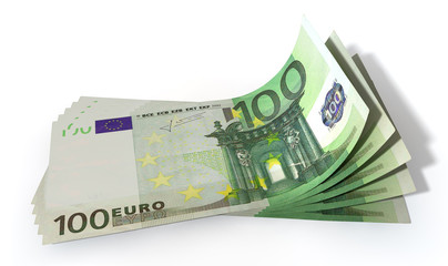 Euro Bank Notes Spread
