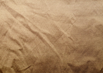 Old crampled fabric texture background