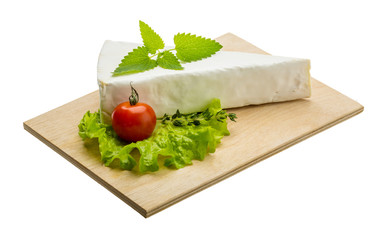 Brie cheese with thyme