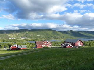 Village de Geilo en Norvège