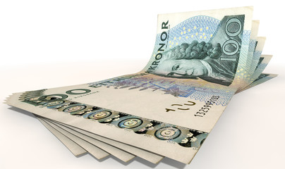 Kronor Bank Notes Spread