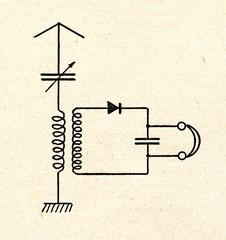 Crystal radio receiver