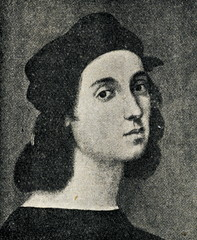Self-portrait of Raphael, aged approximately 23 (1605)