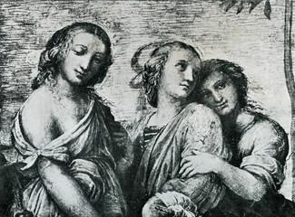 Thalia, Clio and Euterpe (Raphael, 1511)