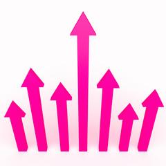 3d arrows infographics design