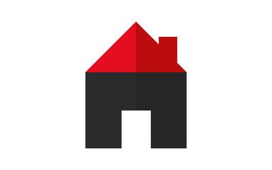 House logo icons set. Real estate.
