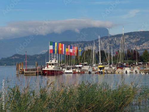 canvas print picture Bardolino, Gardasee