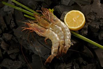 Shrimps on coals