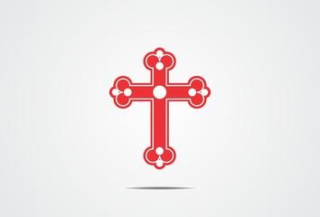 cross, faith, religius, logo, symbol, vector