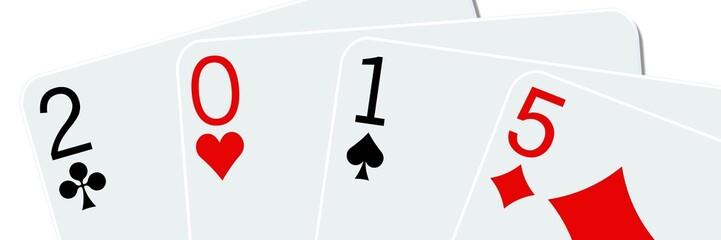 Cartes à jouer 2015